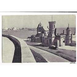 Antigua postal mar del plata el torreon 1951