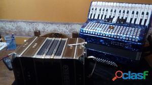 Clases de bandoneon y acordeon nuevo sistema facil sin estudio