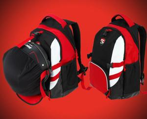 últimos diseños diversificados tienda oficial guapo Mochila Ducati - Porta Casco y Notebook - Impermeable - Made