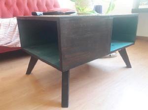 Mesa ratona y rack de tv nórdico vintage