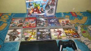 Playstation 3 500gb juegos