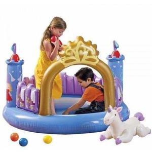 Pelotero castillo inflable