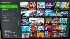 Consola Xbox one con 68 juegos pes 2019