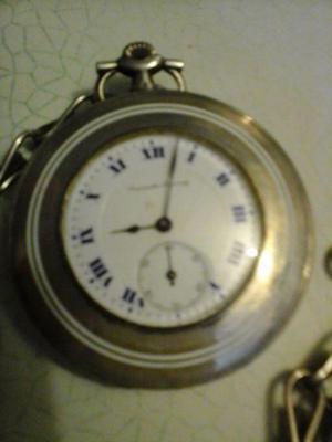 Reloj de bolsillo escasany de plata