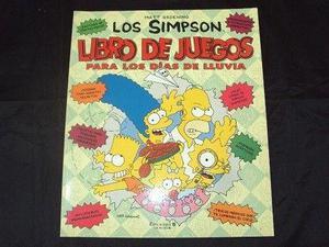 Los simpson. 2 libros: libro de juegos para los dias de sol