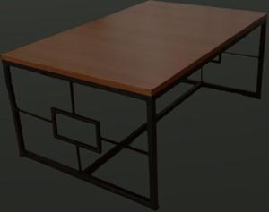 Mesa ratona estilo industrial personalisada.nueva