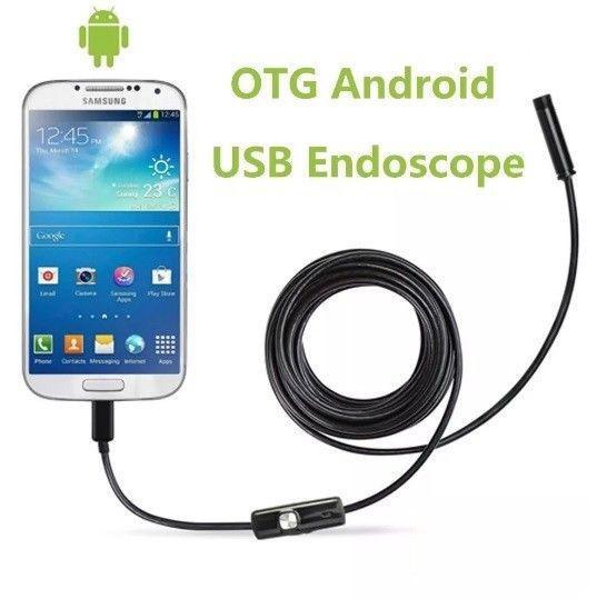 Camara endoscopica boroscopio sumergible android - la plata