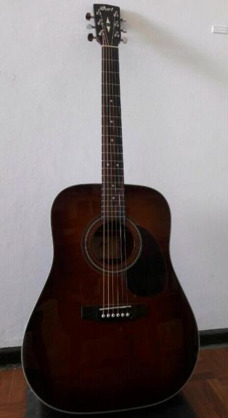 Guitarra acustica cort earth 70 br
