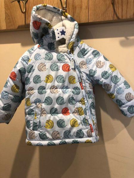 Campera abrigo bebe