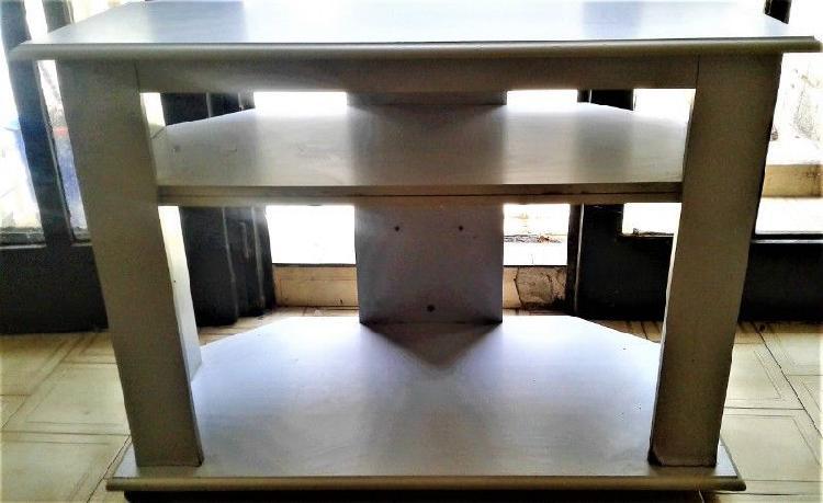 Mesa doble tv /otro fin 1 mt ancho excelente estado