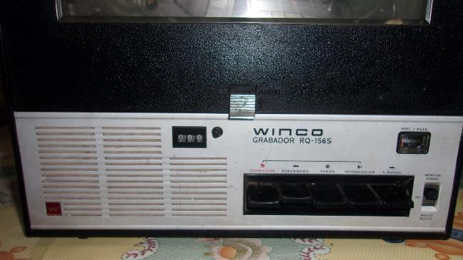 Grabador reproductor winco 8mm $2900.-x hoy oferta