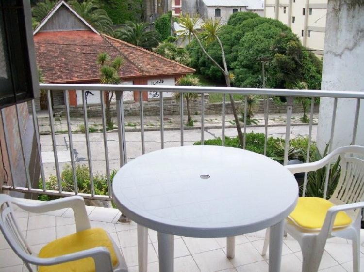 Alquilo amplio monoambiente a la calle con balcon y cochera