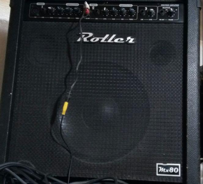 Amplificador multiproposito roller mx 80