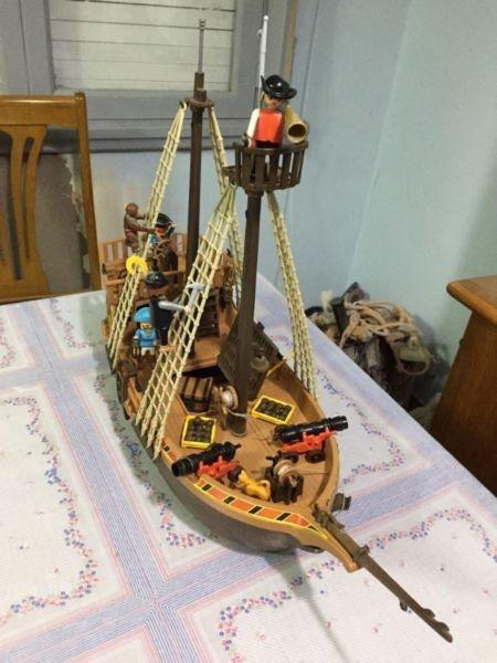 Barco pirata playmobil original