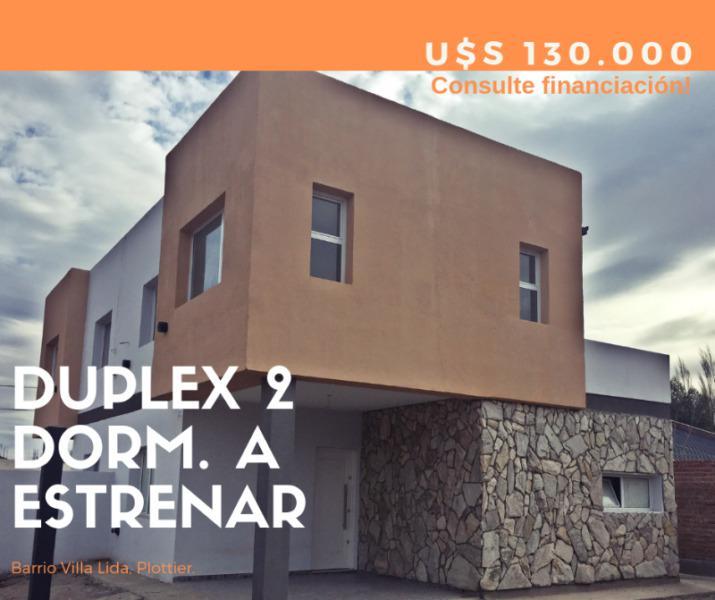 Duplex 2 dormitorios barrio villa lida plottier