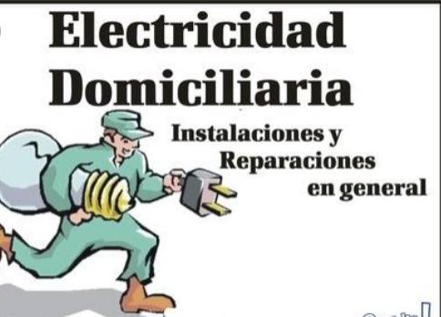 Electricidad reparaciones domiciliaria