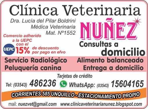Guarderia canina y felina. clinica veterinaria nuñez