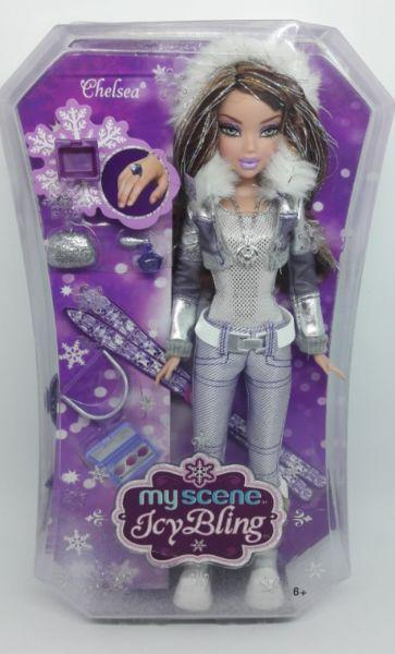 Muñeca barbie my scene chelsea icy bling 2006
