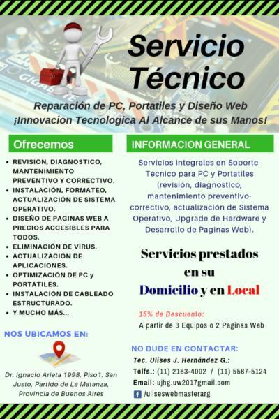 Servicios informaticos integrales