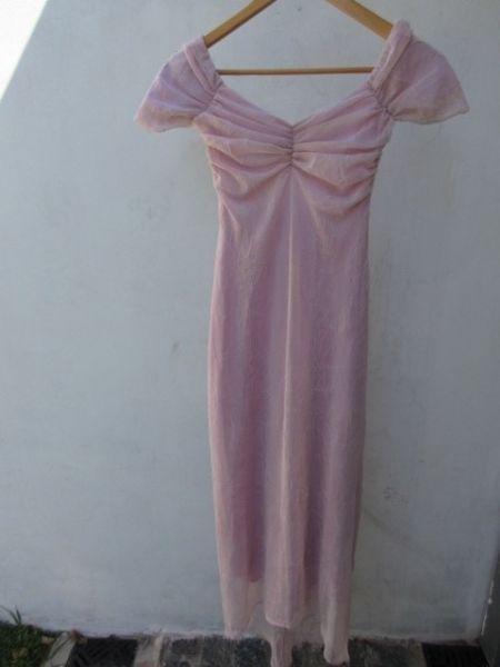 Vestido de fiesta para mujer, marca rosh!!!, una sola