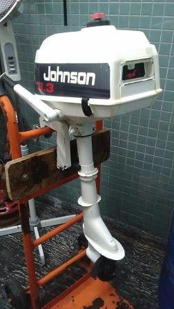 Motor johnson 3.3 hp pata corta $ 19600