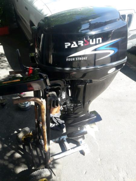 Motor parsun 15hp 4tiempos