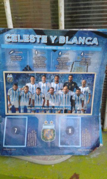 Lbum figuritas fútbol argentino 2014