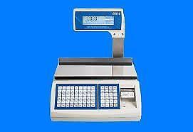 Balanza electrónica kretz report nx 31 kg con impresor