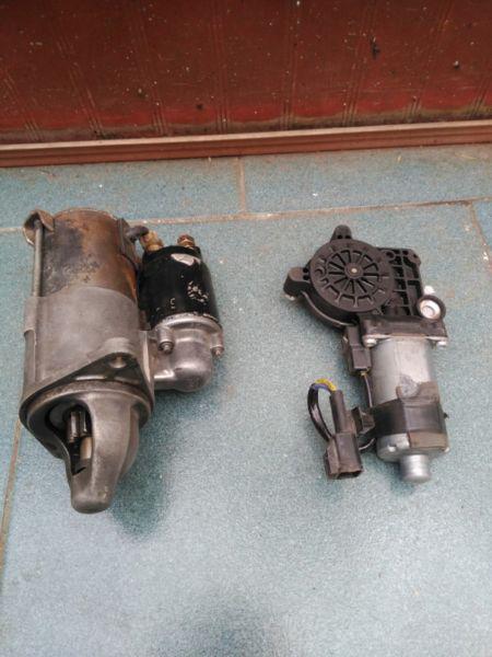 Burro y motor limpia parabrisas para corsa 1.6 hasta modelo