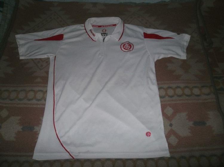 Camiseta internacional de porto alegre blanca talle l