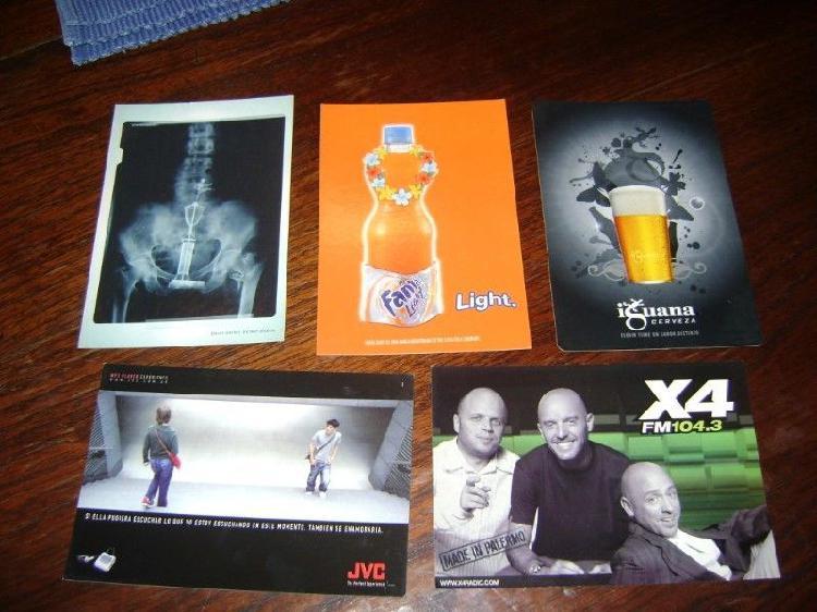Lote de 20 postales lote 2 para coleccionistas propagandas