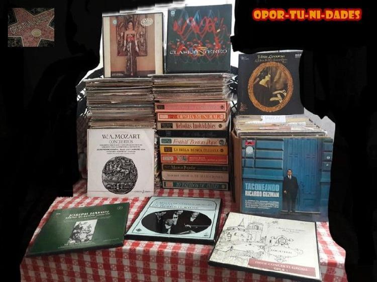 Lote discos vinilos precio po cada disco 40 pesos