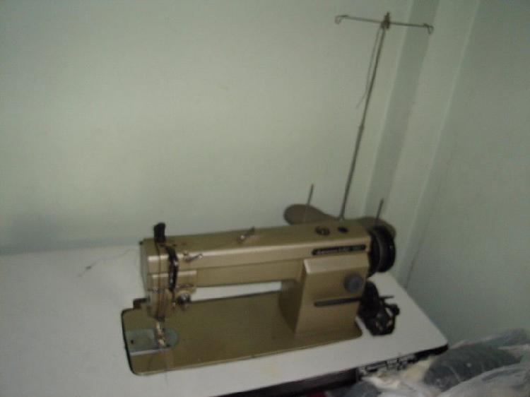 Maquina de coser recta industrial mitsubishi ls.2-190, 12000