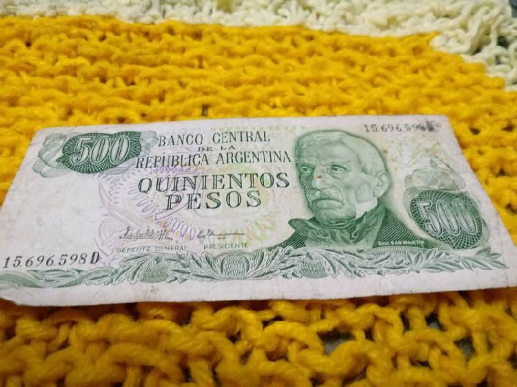 Billetes argentinos buen estado