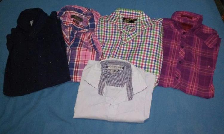 1b80ed5b1a Camisa manga larga celeste   REBAJAS Mayo