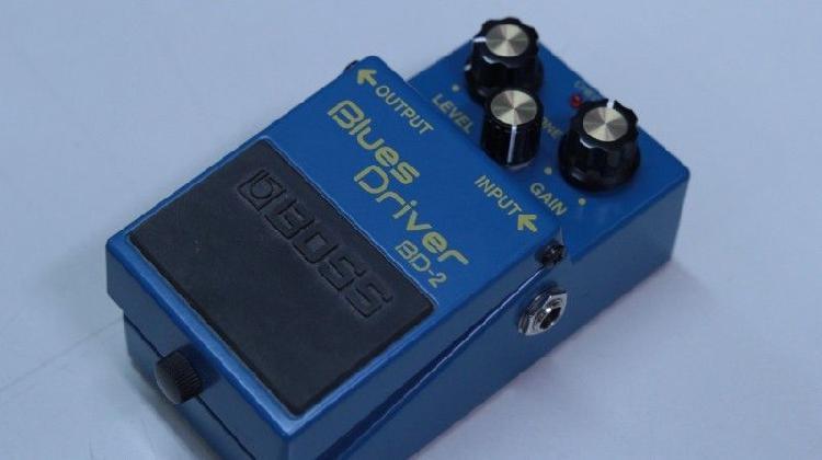 Pedal boss overdrive blues driver bd2 - drive blusero