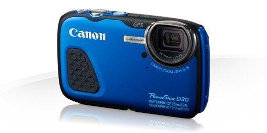 Vendo cámara digital canon powershot d30, sumergible, ideal