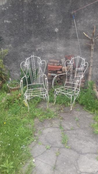 Vendo sillones de jardin