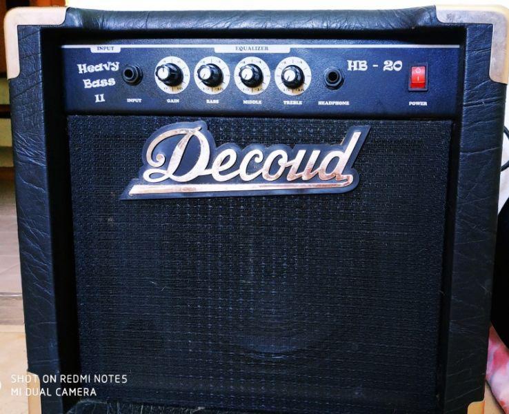 Decoud hb20 amplificador bajo 20 w