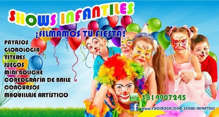 Animación de fiestas infantiles #cumples #niños