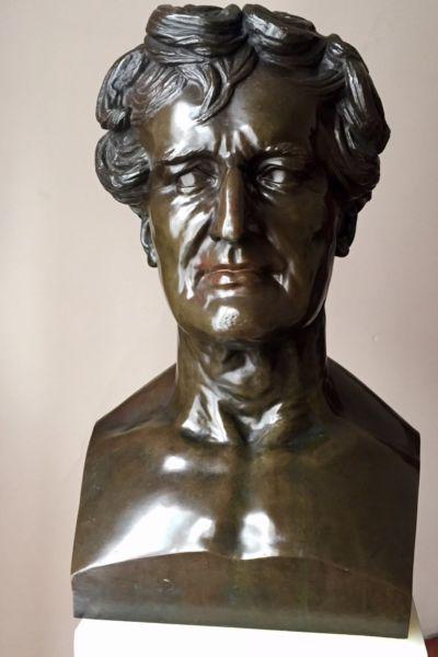 Escultura francesa de bronce / f barbedienne 1880.-