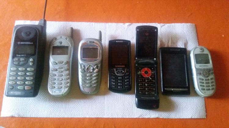 Lote celulares vintage