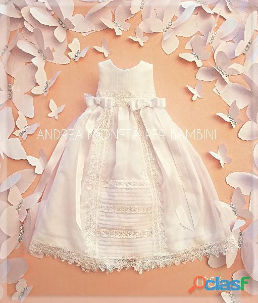 VESTIDOS BLANCOS PARA BAUTISMO BEBE 056 Vestido Largo Blanco Fiesta Bautismo Faldellin CHRISTENING