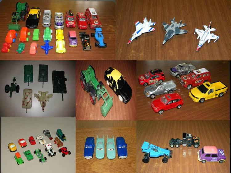 Autos y camionetas de juguete, escucho ofertas / canjes /