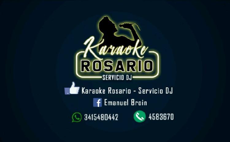 Dj en rosario - karaoke y mas servicios