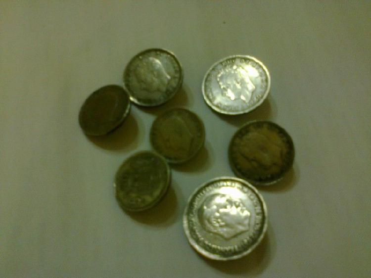 Monedas de españa anilladas para rastra