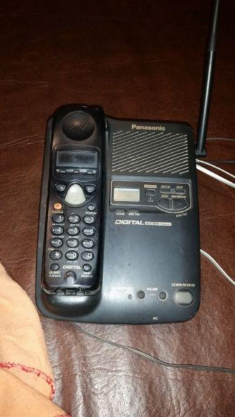 Teléfono panasonic inalámbrico
