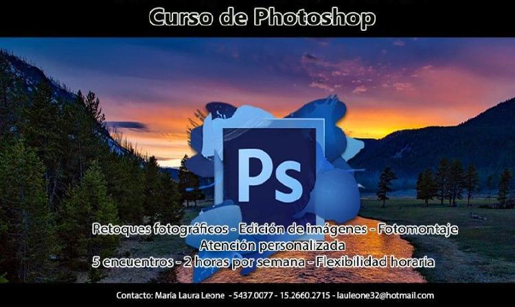 Curso de Photoshop edición de fotos retoques colores