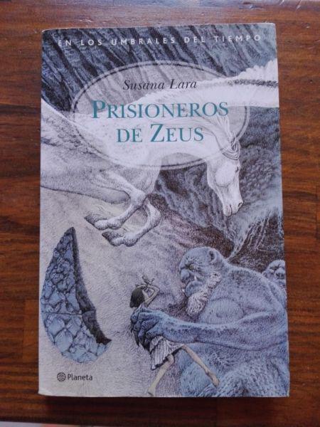 Libro Prisioneros de Zeus. Susana Lara