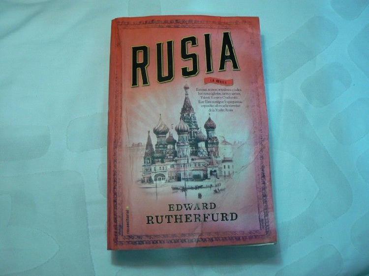 Libro Rusia por Edward Rutherfurd. Roca Editorial 2016. Con